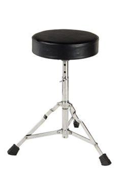 XDrum DD-400 E-Drum-Set Komplettset mit Kopfhörer, Drumhocker und Sticks - 9