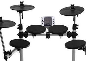 XDrum DD-400 E-Drum-Set Komplettset mit Kopfhörer, Drumhocker und Sticks - 2