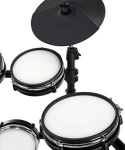 XDrum DD-530 Mesh Heads E-Drum LIVE SET mit Drum-Monitor und Hocker (elektronisches Schlagzeug, Kopfhörer-Anschluss, 400 Sounds, Lernfunktion) - 4